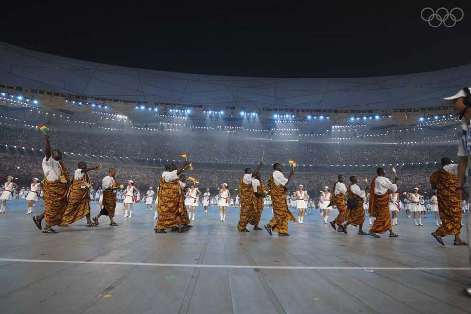 ghana at opening ceremony