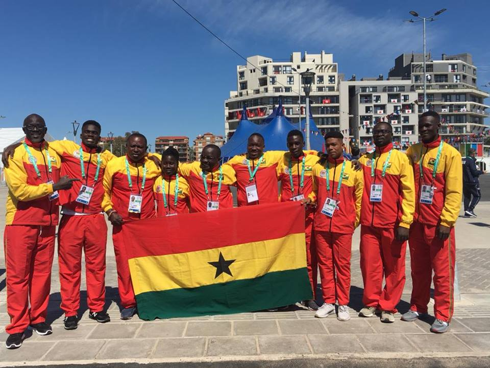 Team Ghana In Buenos Aires For YOG 2018