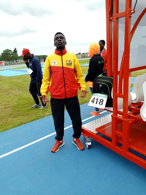 Ghana fail to win medal after Diafo finishes eighth