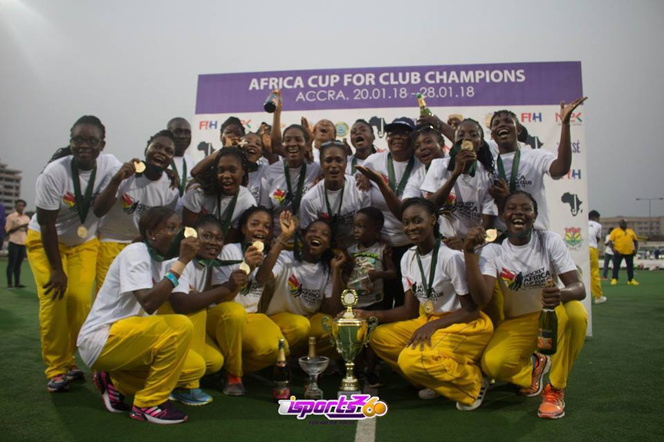 Ghana's GRA wins first ever gold at Hockey African Club Championship