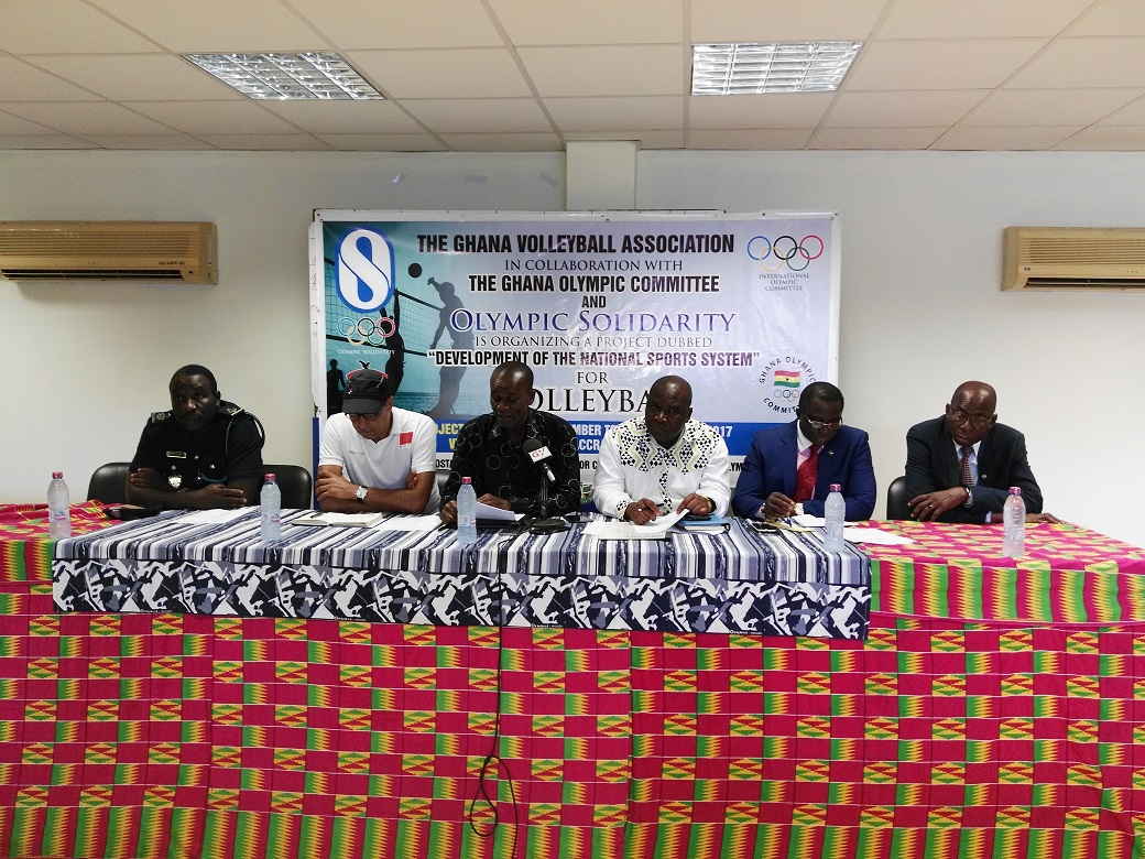 Ghana Volleyball Association (GVA) benefits from IOC Solidarity Project