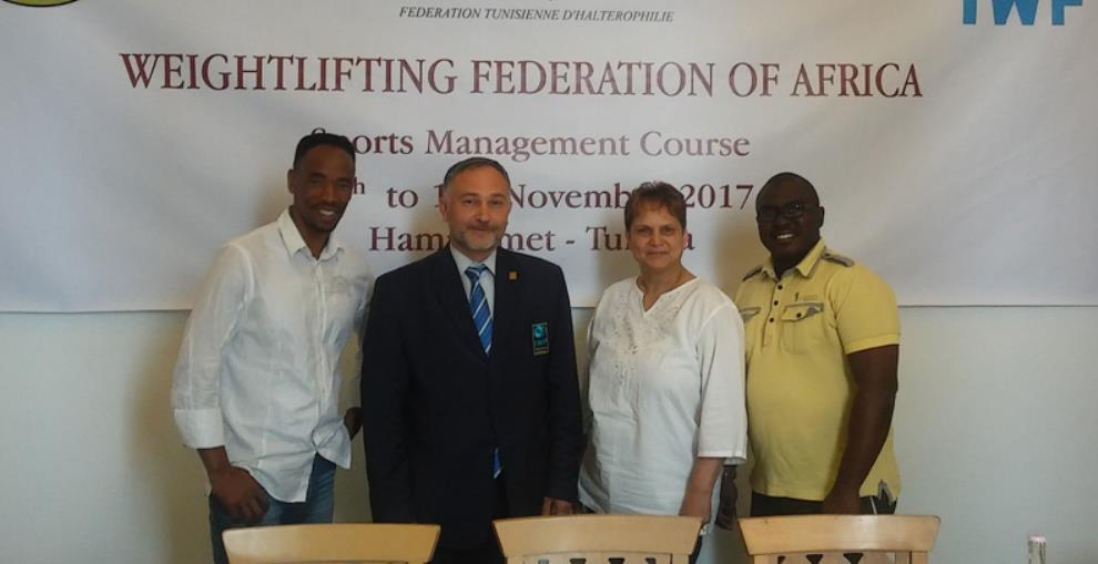 IWF, WFA Hold Management Course In Tunisia
