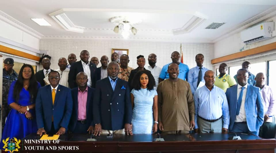 Ministry of Youth & Sports inaugurates four committees to promote sports in Ghana
