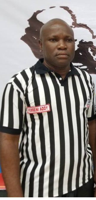 Ghana's Hussien Addy gets world armwrestling junior referee