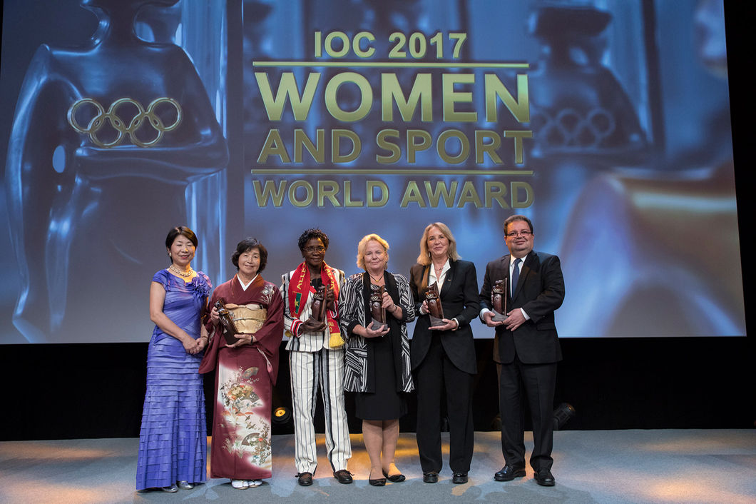 GENDER EQUALITY ADVOCATES AND COACHES RECEIVE IOC AWARDS