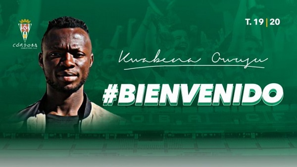 Kwabena Owusu joins Cordoba CF on loan