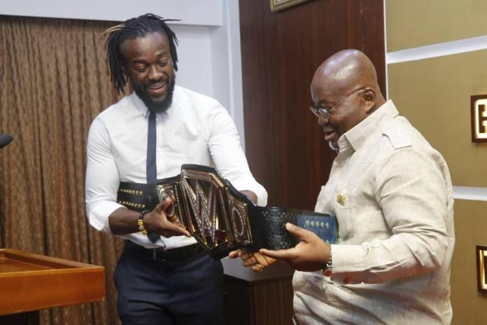 Kofi Kingston visits motherland – Ghana (Pictures)