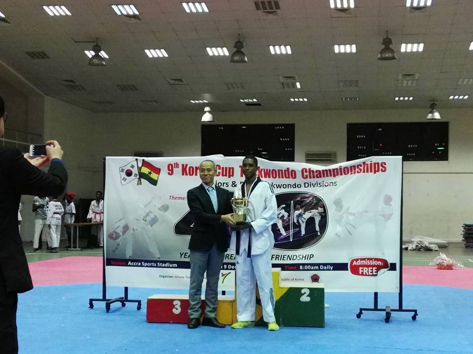 Ghana Taekwondo has great potential –Consular General Dongik Jeong