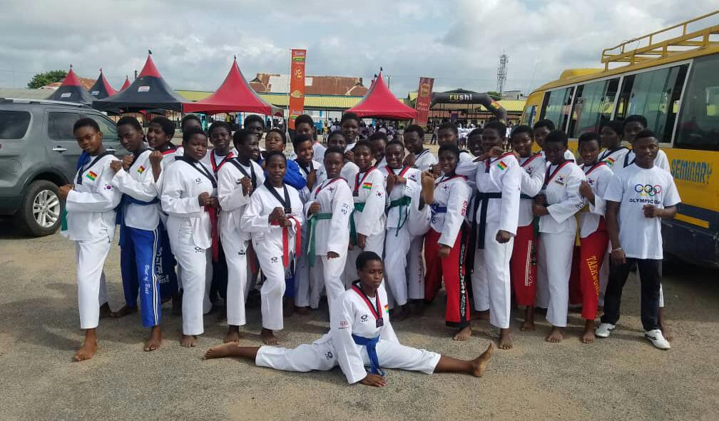 Mamfe Methodist Girls SHS Taekwondo Club Commended
