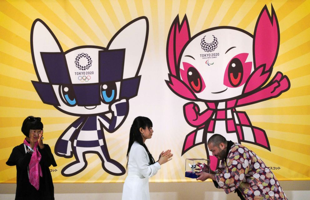 2020 Tokyo Olympic mascots unveiled