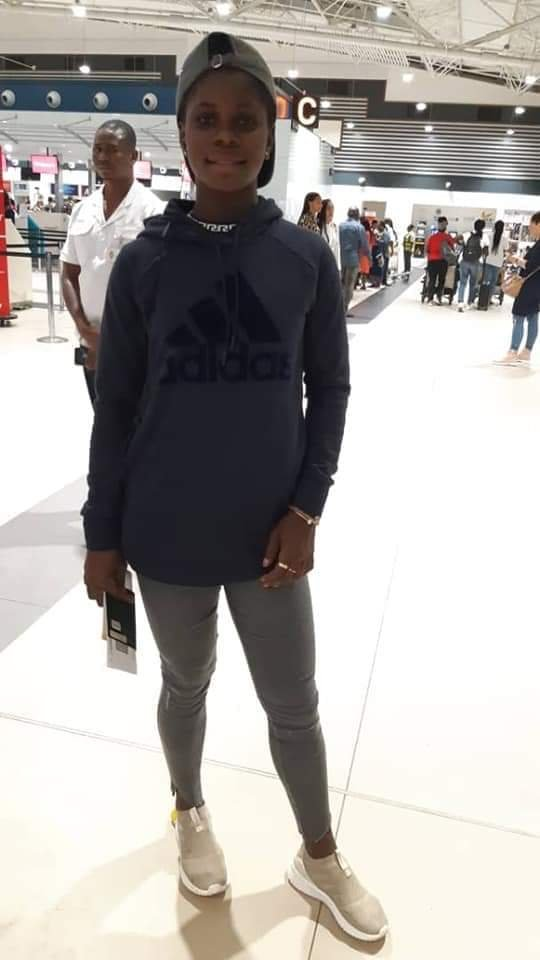 Mukarama Abdulai Leaves Ghana to school and play in USA