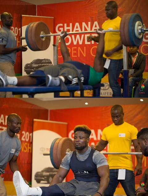 Ghana Power-lifting organises Para Power-lifting Open Championship at Kempinski Hotel