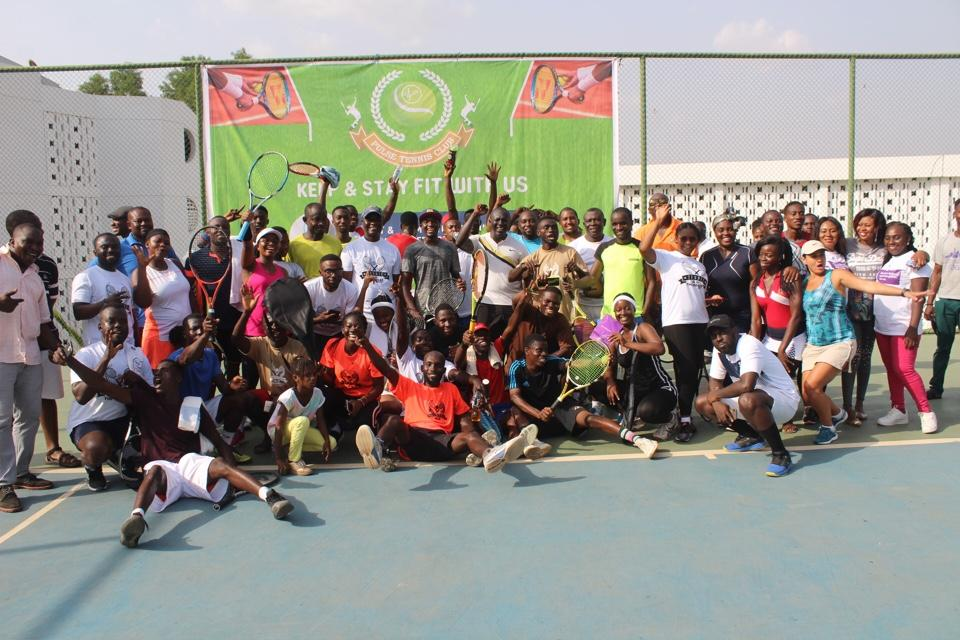 Kumasi Pulse Fitness Club Wins 2020 Independence Day Tennis Competition At Home