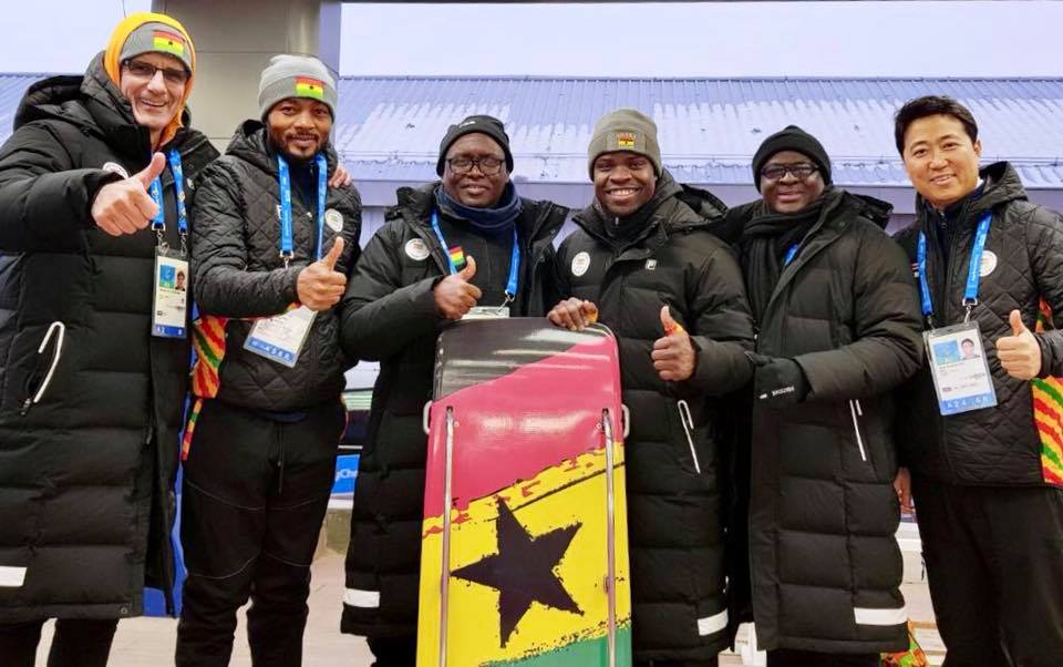 GOC President And Secretary General at PyeonChang 2018 Winter Olympic Games