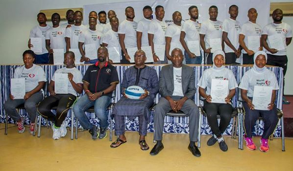 Twenty Rugby Players Receive World Rugby Training Certification