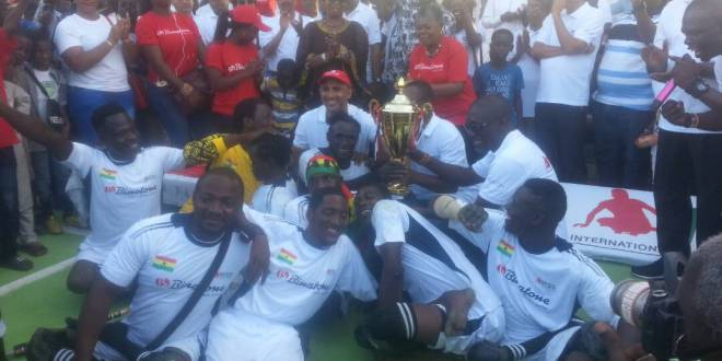 Ghana Beats Togo 5-1To Win Binatone International Skate Soccer Cup