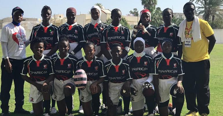 Ghana Rugby Woman Eagles Triumphant In Tunisia