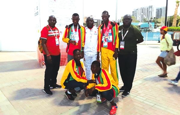 Dantakor, Amertowosi win gold for Ghana At Special Olympics