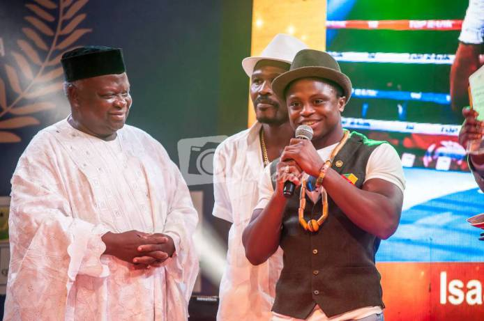 Isaac Dogboe Gains 2017 SWAG Sports Personality of The Year Award