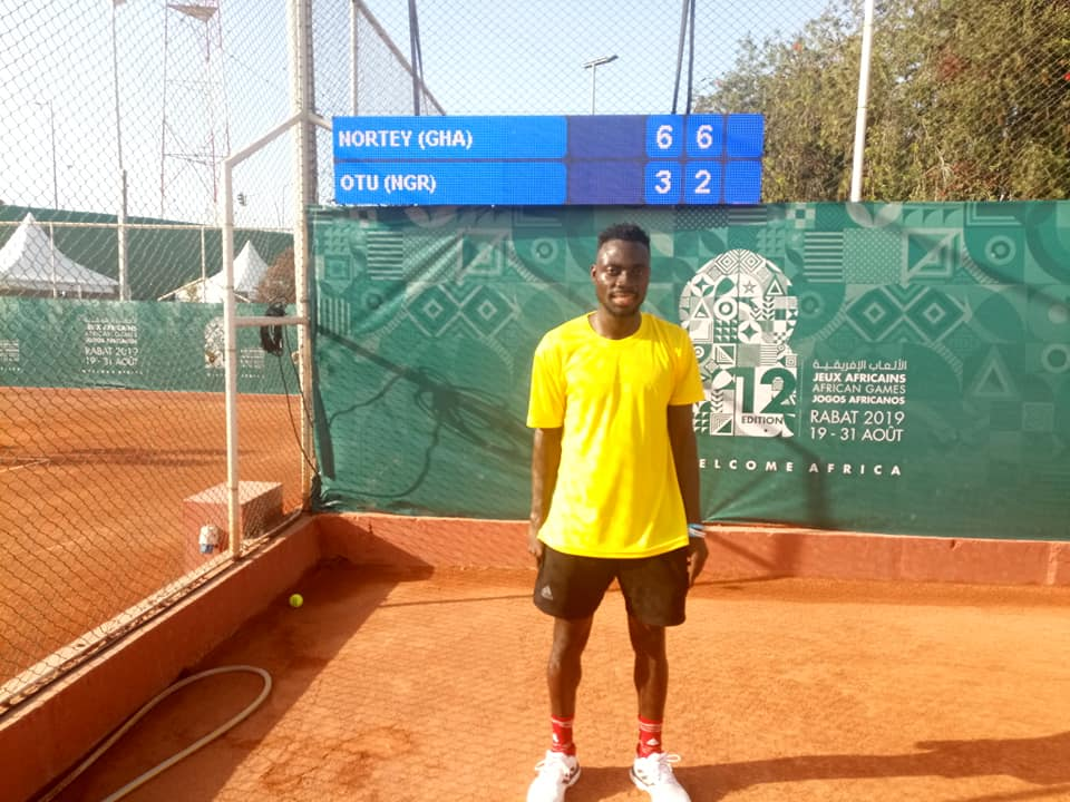 Ghana's Nortey Beats Nigeria's Omang In Tennis