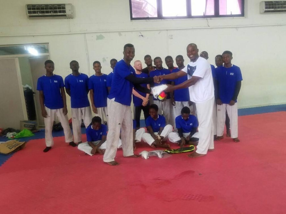 Prismax Taekwondo Academy presents to National Taekwondo Team