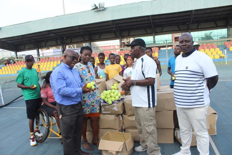 Soliver Foundation donates to Ghana Tennis Federation