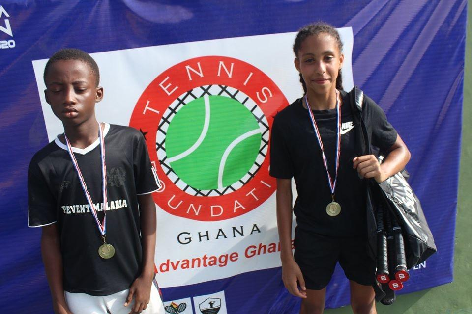 Eben Quaye And Akua Akoma Win TFG U12 Open