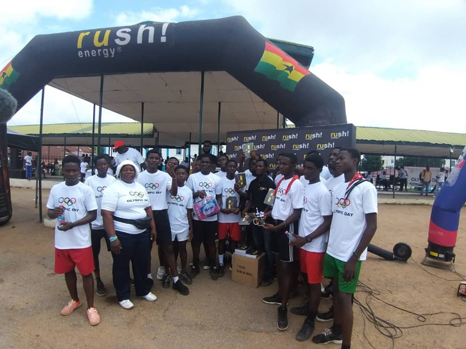 GOC Commends Toyota Ghana, Twellium And Indomie for supporting 2019 Olympic Day Activities