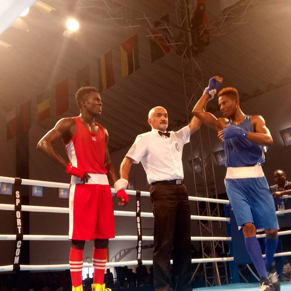 Wahid Loses To Commonwealth Champ, Junias At AG 2019