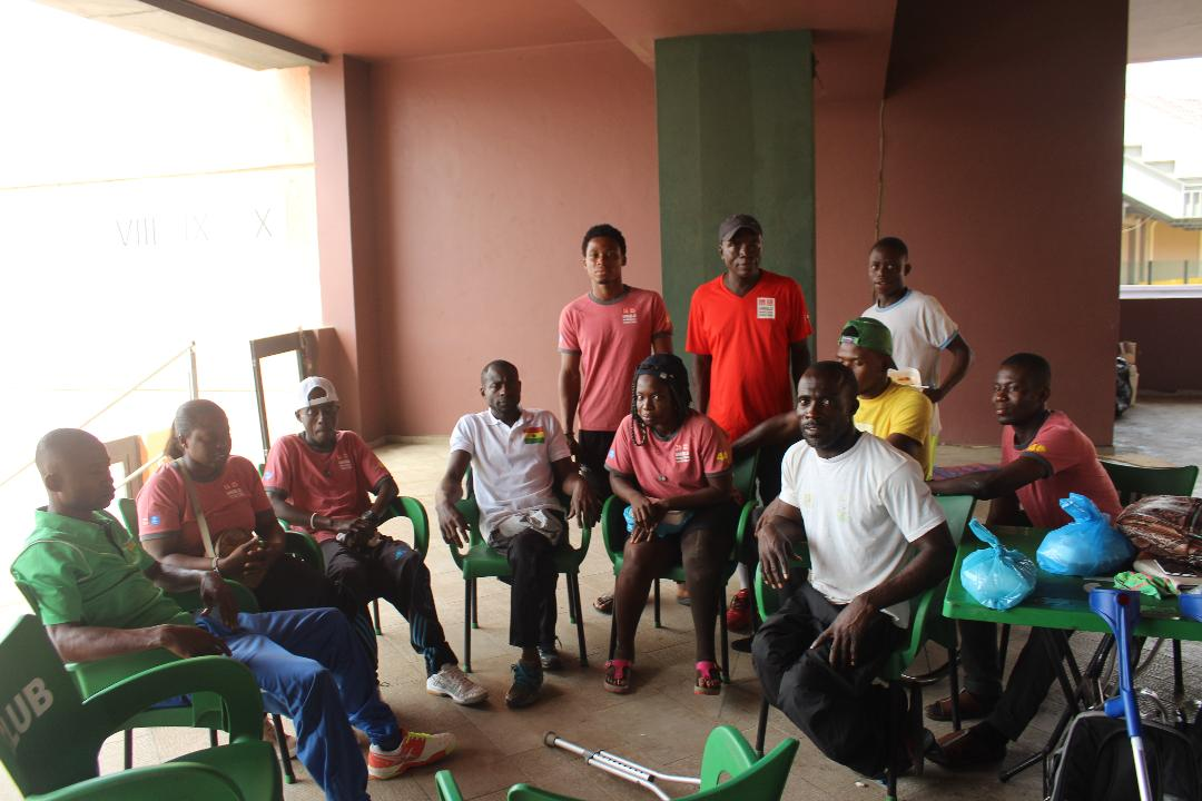 Ghana Wheelchair Tennis Players Undergo Medical Assessment And Pre-Classification Evaluation