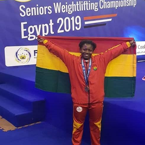 Winny Ntumi Wins Bronze Medal At Africa Seniors Weightlifting Championship