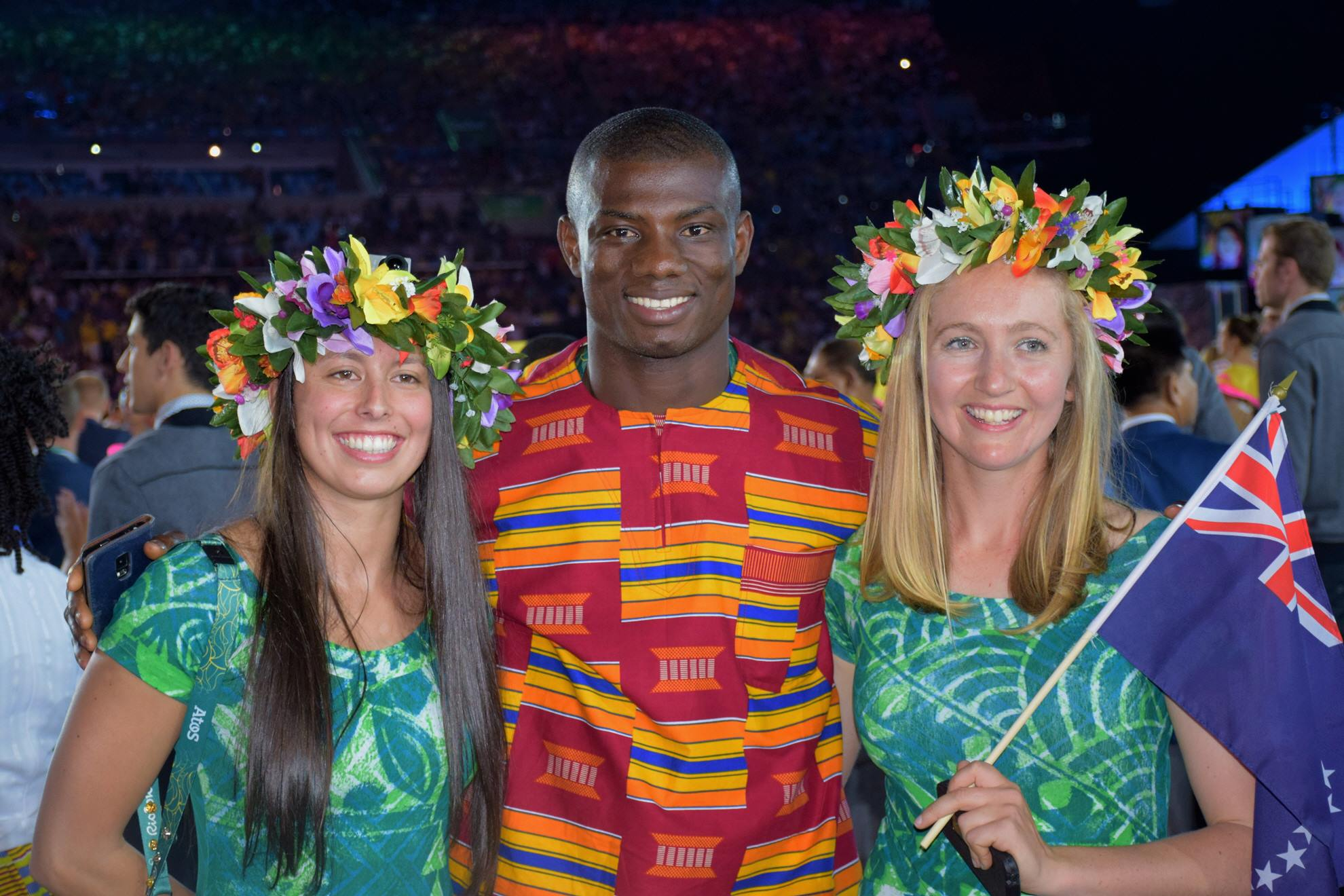 Ghana at Rio Opening Ceremony