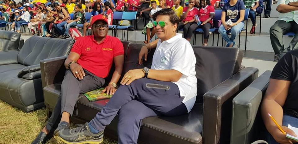 GOC President Motivates Young Athletes At 2019 DPS International SportsFest