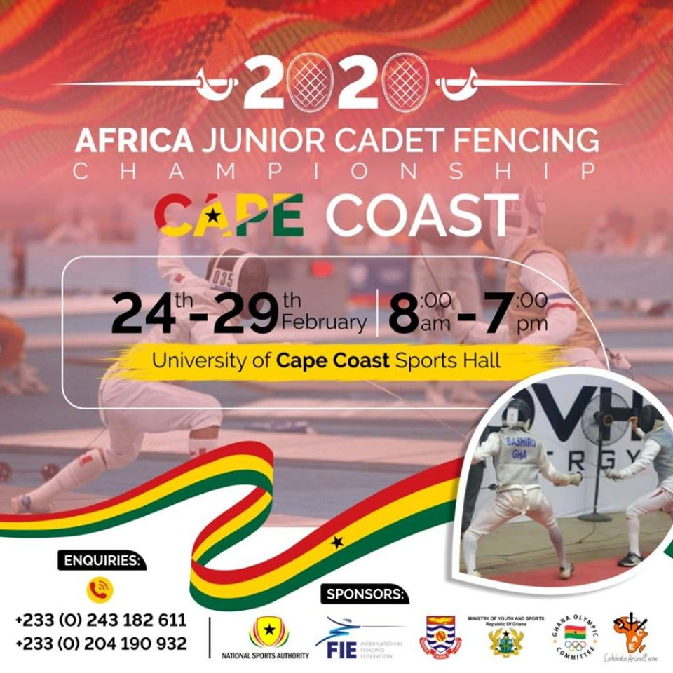Cape Coast University To Host 2020 African Junior Cadet Fencing Championship