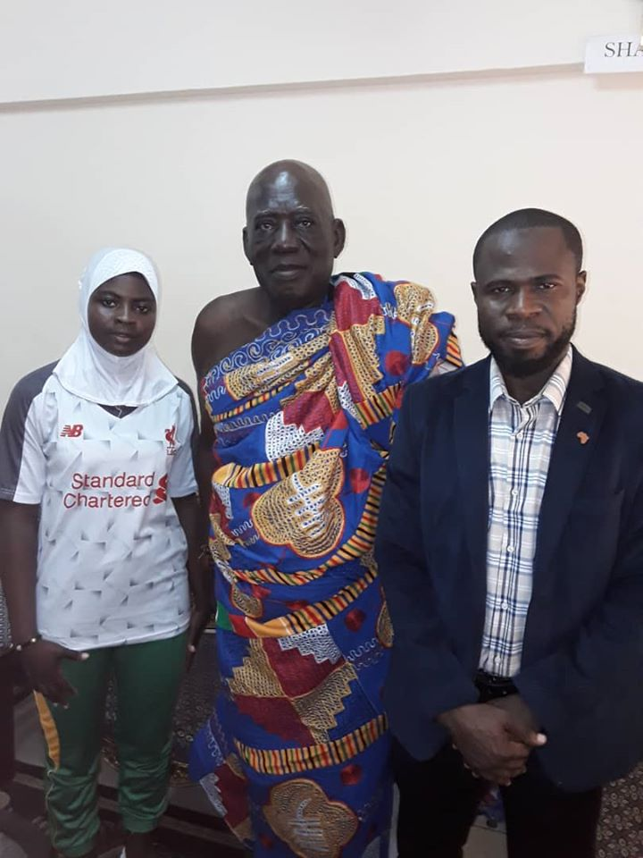 Chief of Cape Coast Supports African Fencing Championship in Ghana