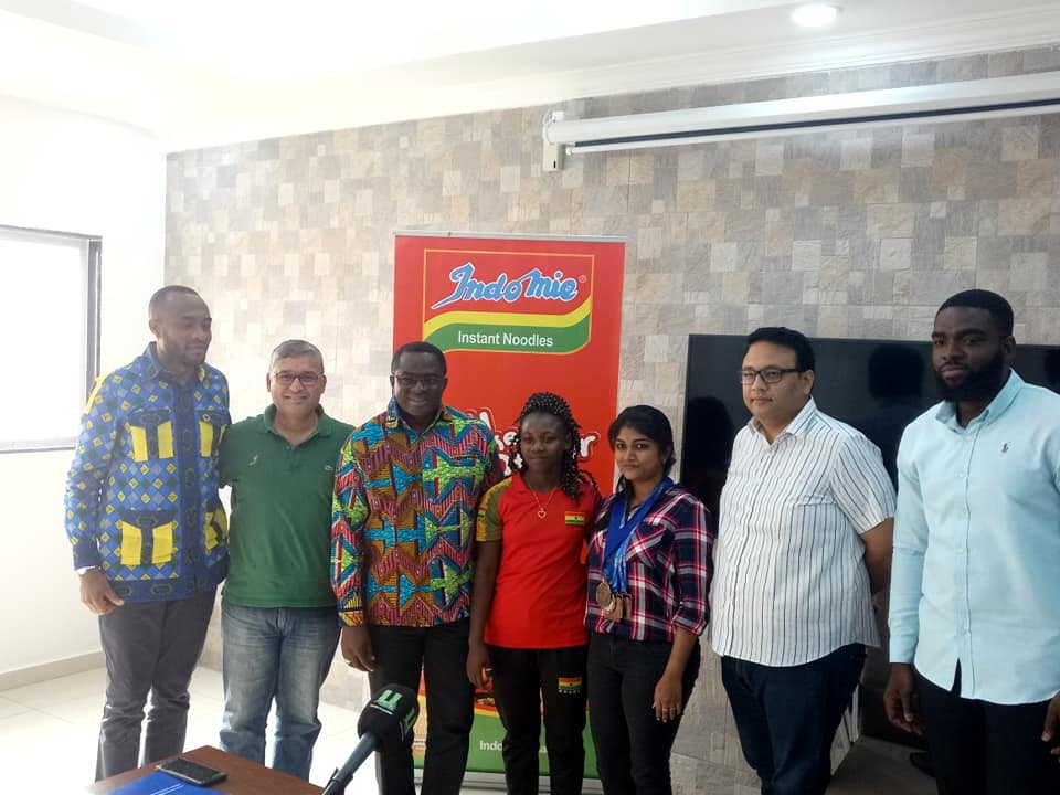 Indomie Producers Hail Ghana Weightlifting Federation (Black Cranes) For Medal Haul At 2019 African Games